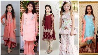Trending latest designer stylish stylish baby girls dress designs