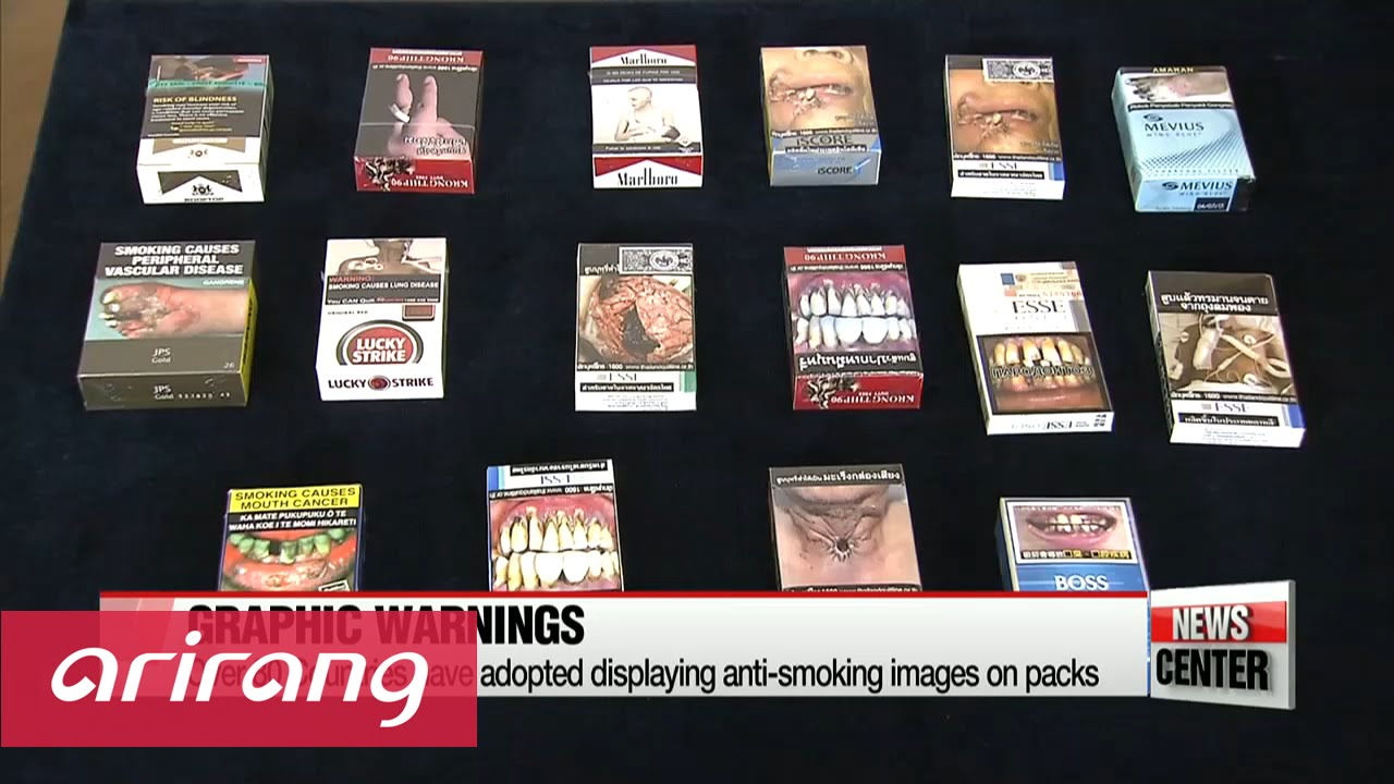 S  Korea unveils first graphic cigarette warnings