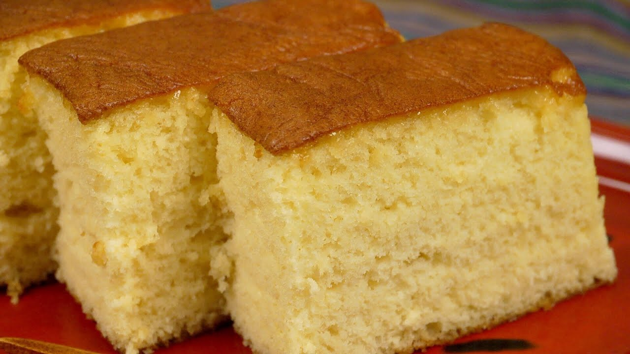 Vanilla Sponge Cake Recipe Youtube