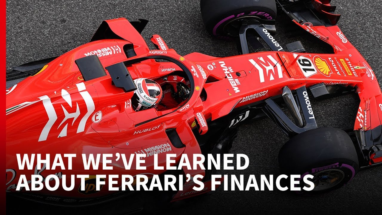 What We Ve Learned About Ferrari S F1 Finances Youtube