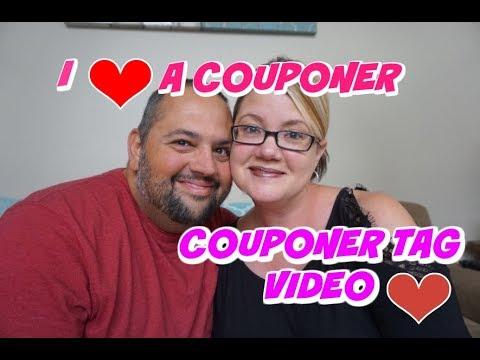 COUPONER TAG VIDEO:  I ❤️ A COUPONER!
