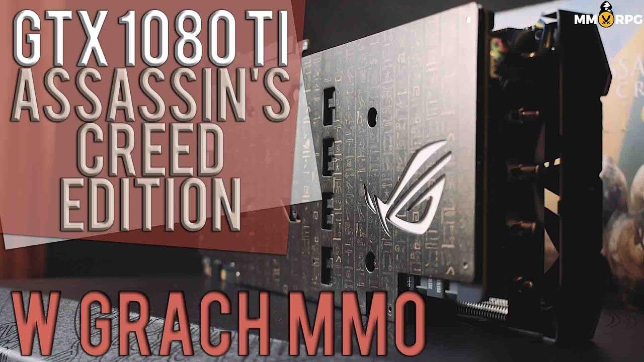 MONSTRUM W MMO – GTX 1080 TI OC Assassin's Creed Edition