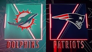 Miami Dolphins vs New England Patriots Week 17 NFL Gameplay 12.29.19