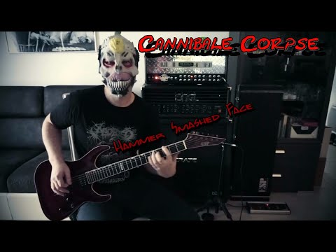 Mesa-Boogie Dual rectifier - Cannibal corpse - Hammer Smashed Face (Cover)
