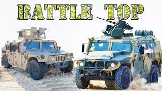 10 лучших ЛЁГКИХ БРОНЕАВТОМОБИЛЕЙ мира ⭐ Тигр, Humvee и KrAZ Spartan. Что круче ?