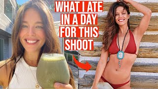 What I Eat In A Day Sports Illustrated Swimsuit Prep Edition | Emily DiDonato | WIEIAD
