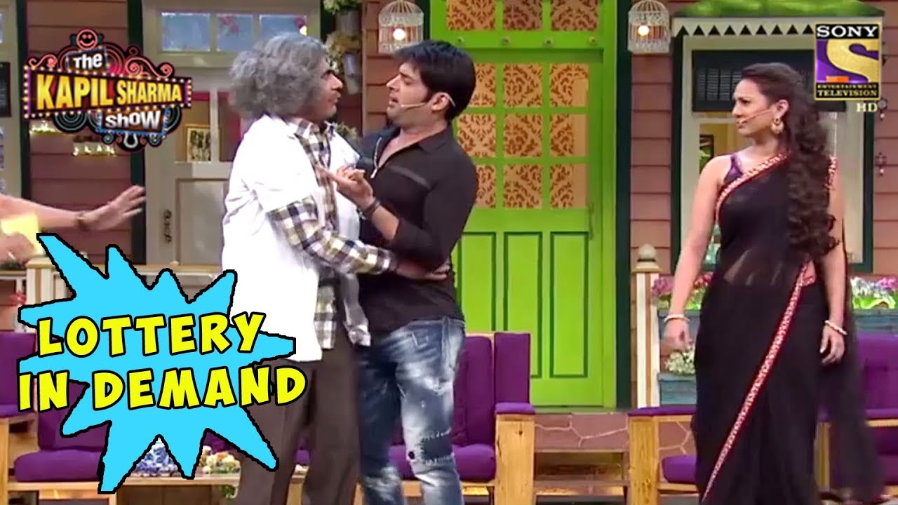Dr  Gulati And Kapil Fight For Lottery - The Kapil Sharma Show