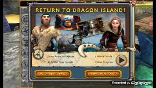 School of Dragons - Torrent's First Flying Lesson! (Gameplay 4)