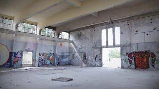 לא לשימוש - סיור מצולם בבסיס צהל נטוש ומסתורי במרכז הארץ
