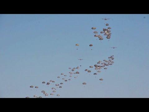 Raining Paratroopers