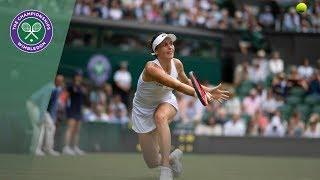 HSBC Play of the Day - Tatjana Maria | Wimbledon 2019