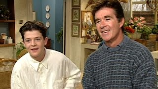flashback a 13 year old robin thicke hopes for a music career on the set of growing pains