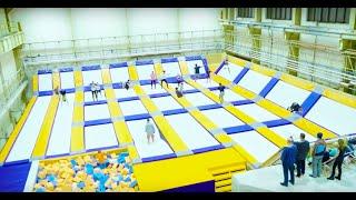 Freestyle Kolbenka - trampolínová aréna