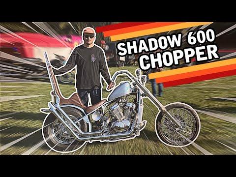 HONDA SHADOW 600 2001 CHOPPER - TUPODE