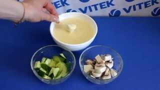 Рецепт приготовления фондю с тремя видами сыра в мультиварке VITEK VT-4216 CM