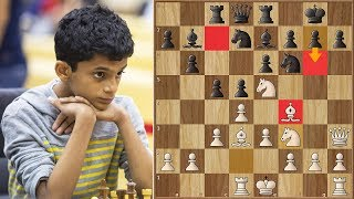 Nihal Sarin Beats an International Master in 13 Moves!