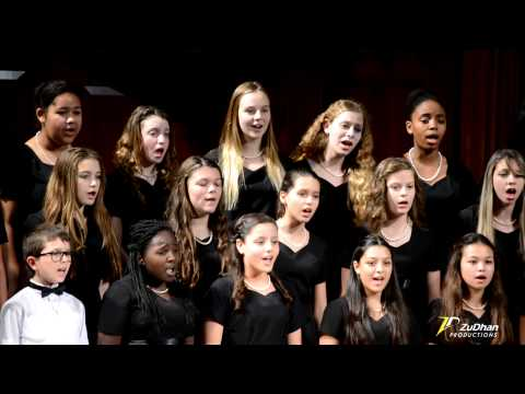 Miami Arts Charter Middle School Choir - Gloria In Excelsis Deo (ZuDhan Productions)