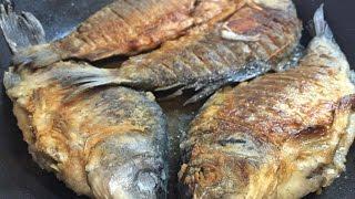 Жарим костлявую речную рыбу или как избавиться от мелких косточек