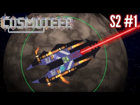 Beginning of The Swarm!! | Ep1 S2 |  Cosmoteer Gameplay!