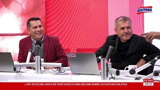"""Melcochita y Martín """"Chicharra"""" en entrevista con Nicolás Lúcar y Manuel Rosas"""