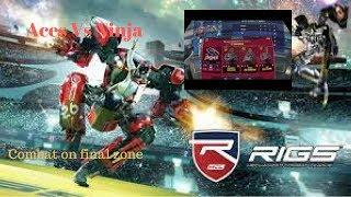 Rigs mechanized combat league VR - Aces Vs Ninja   Combat on final zone