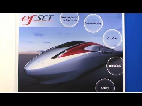 Kawasaki efSET - High-speed train for overseas markets : DigInfo