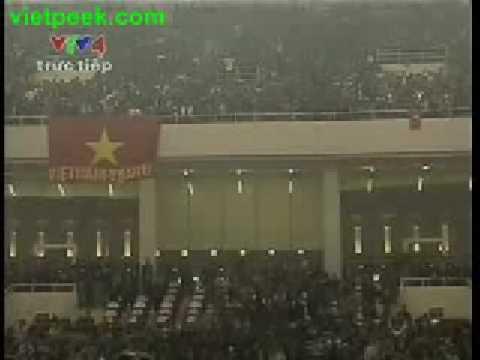 Viet Nam - Thailand- 1-1 - Ban dai VTV4
