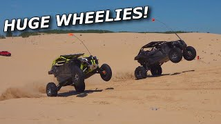 Mudlyfe goes DEEP! Nitrous X3 vs Big Turbo X3! Cleetus crew day 2!