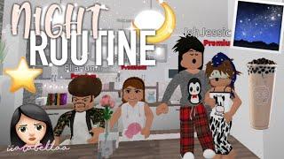 Family Night Routine♡ | Roblox Bloxburg | iiarabellaa