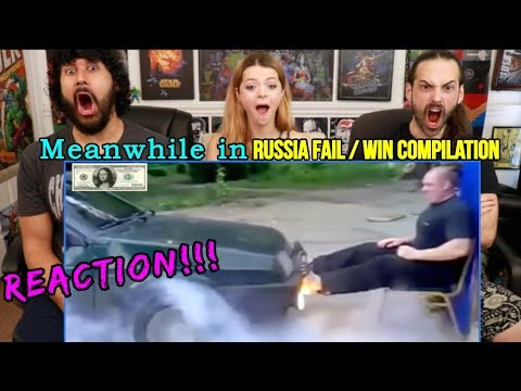 Meanwhile In RUSSIA FAIL/WIN Compilation - REACTION!!!