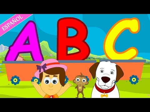 ABC Songs for Children | Nursery Rhymes - Spanish (Canciones Infantiles)