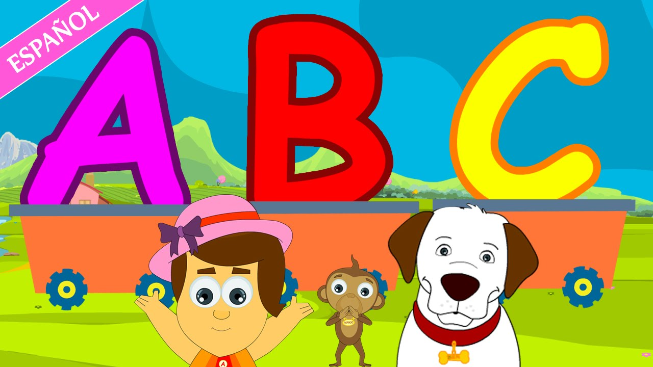 ABC Songs for Children | Nursery Rhymes - Spanish (Canciones ...