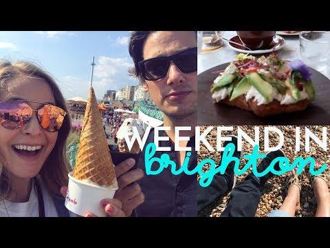 Weekend in BRIGHTON with Mike! | Fleur De Vlog