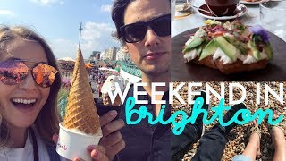 Weekend in BRIGHTON with Mike! | Fleur De Vlog