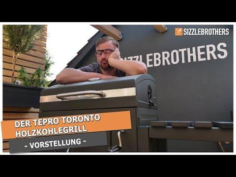 Tepro Toronto Holzkohlegrill Saturn : Tepro toronto holzkohlegrill hands on sizzle brothers