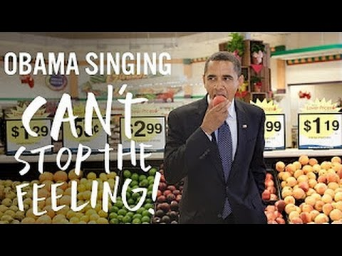 Barack Obama Singing Can't Stop The...