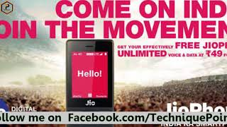 Jiophone latest offer 19 Rs Plan offer get unlimited calling & internet Full Details hindi 2018