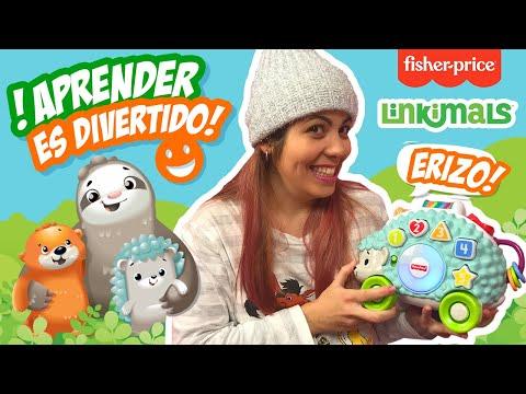 LINKIMALS ERIZO🦔 En Español | Fisher-Price | Juguete Interactivo Bebé 👶🏼 (¿Cómo Vincularlos?)