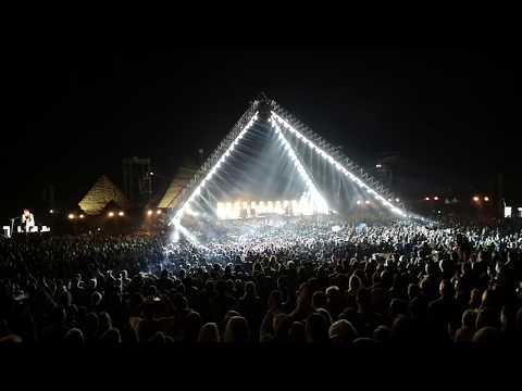 Big Mike - Red Hot Chili Peppers Live from The Pyramids in Egypt.