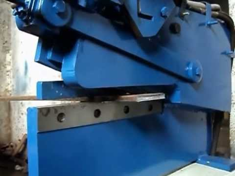 Hydraulic Angle Cutting Machine Youtube