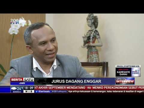 Special Interview With Claudius Boekan: Enggar dan Buwas Soal Impor Beras # 1