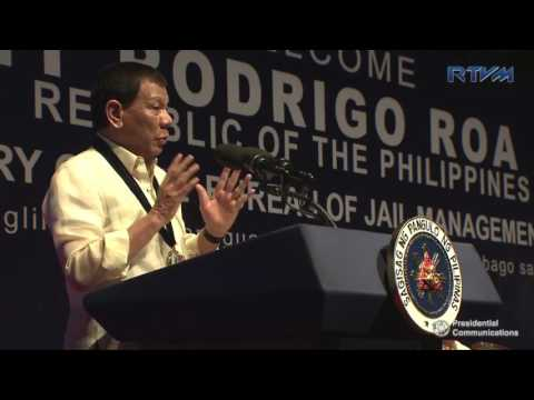 26th Anniversary of the Bureau of Jail Management and Penology (Speech) 7/12/2017