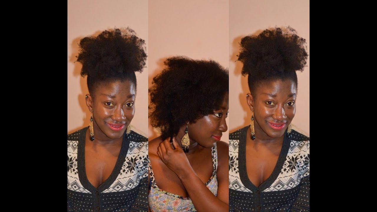 How to blowOut natural hair 4c thin fine hair