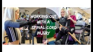 QUADRIPLEGIC AT PHYSIO/WORKOUT | Jordan Bone