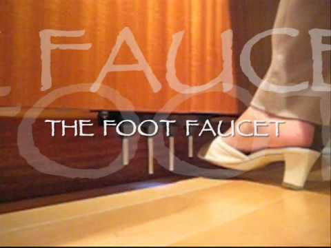 Kitchen Faucet Foot Pedal | Foot Faucet Hands Free Foot Pedal For The Kitchen Sink Youtube