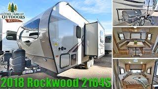 2018 ROCKWOOD 2104S Murphy Bed lightweight RV Camper Travel Trailer Colorado Dealer