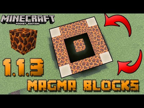 thing-you-need-to-know-about-magma-blocks-!!-magma-blocks-in-mcpe-1.1.3-!!-sausagecraft