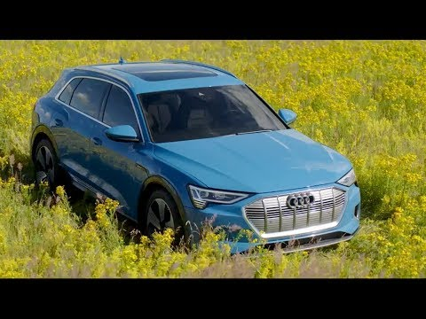 Audi e-tron Electric SUV | Driving, Exterior, Interior