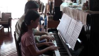 """Piano duo """" I got plenty o"""