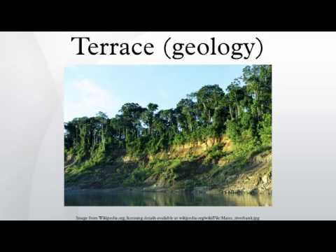 Terrace geology youtube for Use terrace in a sentence